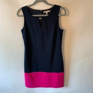 Banana Republic Navy Sleeveless Dress - Size 6P